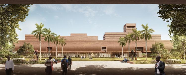 Adjaye Associates divulga projeto preliminar para o Museu Edo de Arte da África Ocidental, Cortesia de Adjaye Associates