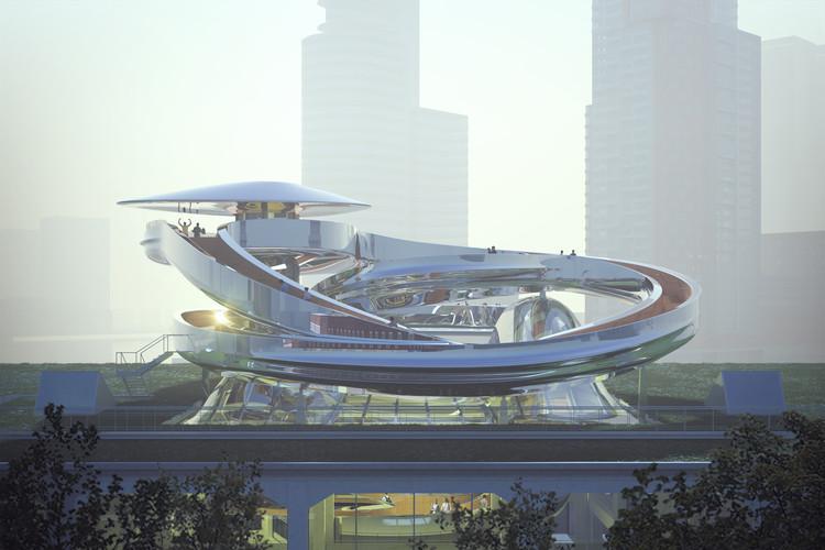 Iniciadas as obras do Museu das Migrações projetado pelo MAD em Roterdã, Cortesia de MAD Architects