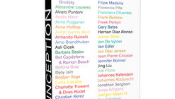 Inception: A Collaborative Experimental Art Book, Exploring the Notion of Inspiration