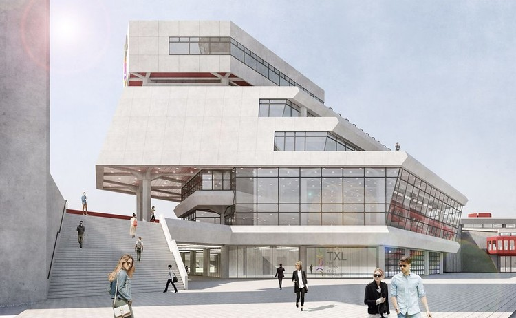 Berlin-Tegel Airport Reimagined as New Urban Tech Incubator in Germany, Courtesy of gmp Architects
