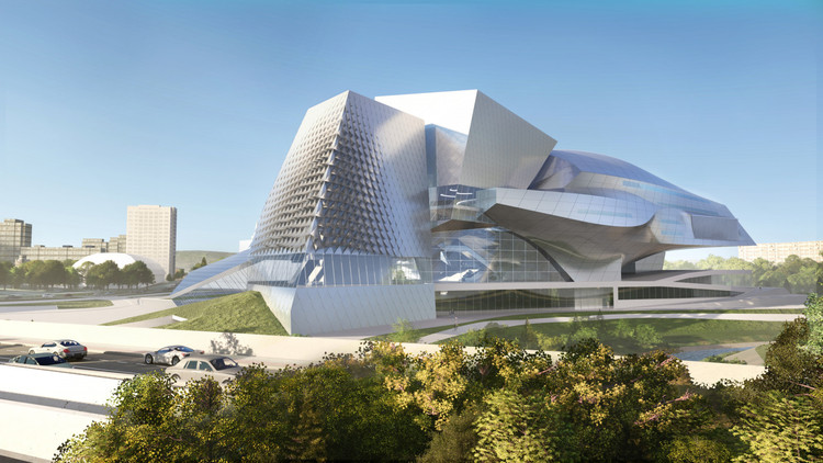 Coop Himmelb(l)au Unveils New Kemerovo Museum and Theater Complex in Russia, Courtesy of Coop Himmelb(l)au