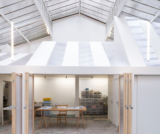 Light Folds Studio / WY-TO architects