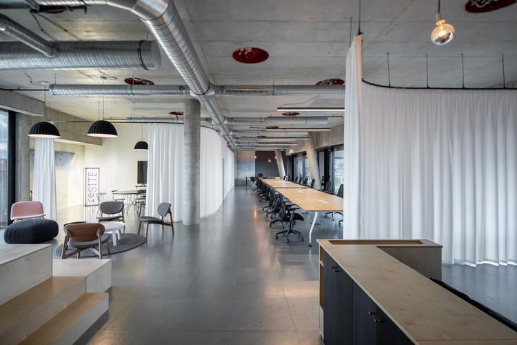 Manifesto & reSITE Office / Marco Maio Architects, © Alex Shoots Buildings