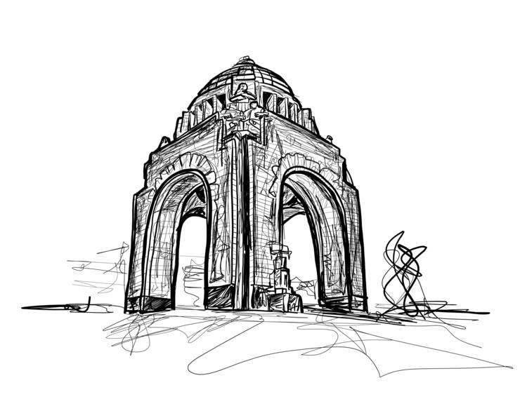 """Jorge Cejudo: """"Emprendí un viaje sin salir de casa basado en la arquitectura del mundo"""", Cortesía de Cejas"""