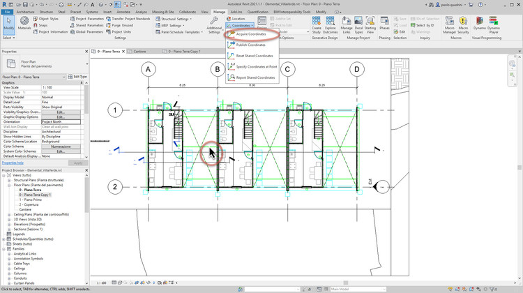 How to Start a New Project in Revit, Courtesy of GoPillar Academy