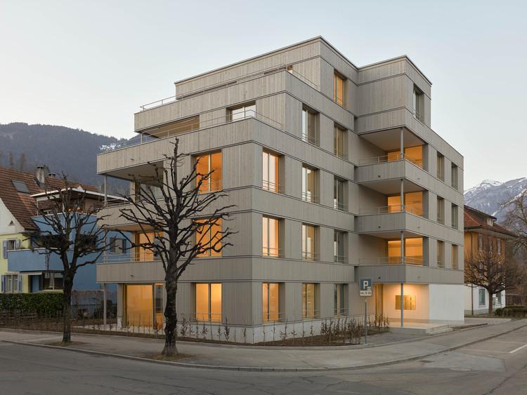 Edificio residencial Gartenstrasse / Durrer Architekten, © Martin Wittwer