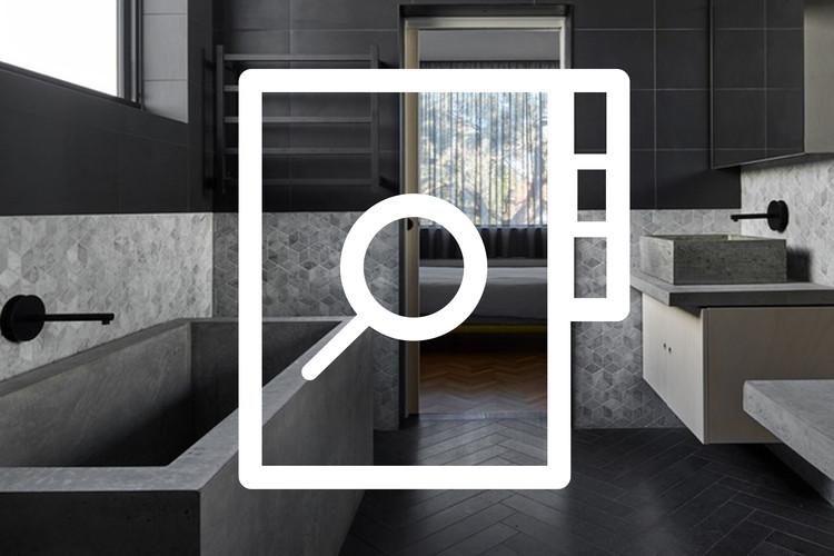 Banheiro: tudo o que você precisa saber para projetar um, Imagem de fundo: Writer's House / Branch Studio Architects. © Peter Clarke Photography
