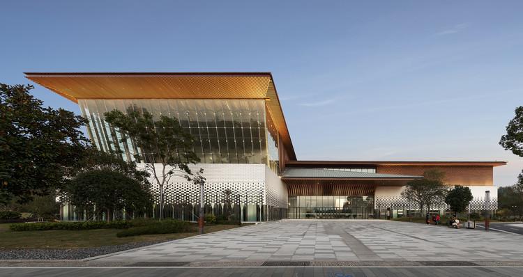 Longyou Museum / CUC·ZOYO, Southwest perspective. Image © Guangkun Yang