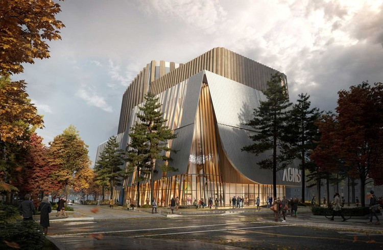 KPMB and Omar Gandhi Win Competition to Design Nova Scotia's New Art Gallery, Courtesy of KPMB Architects with Omar Gandhi Architect