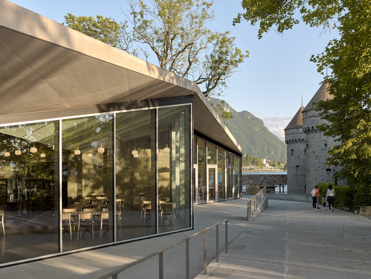 Jardin Anglais Cafe Pavilion / Dreier Frenzel Architecture + Communication, © Ariel Huber