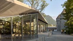 Jardin Anglais Cafe Pavilion / Dreier Frenzel Architecture + Communication