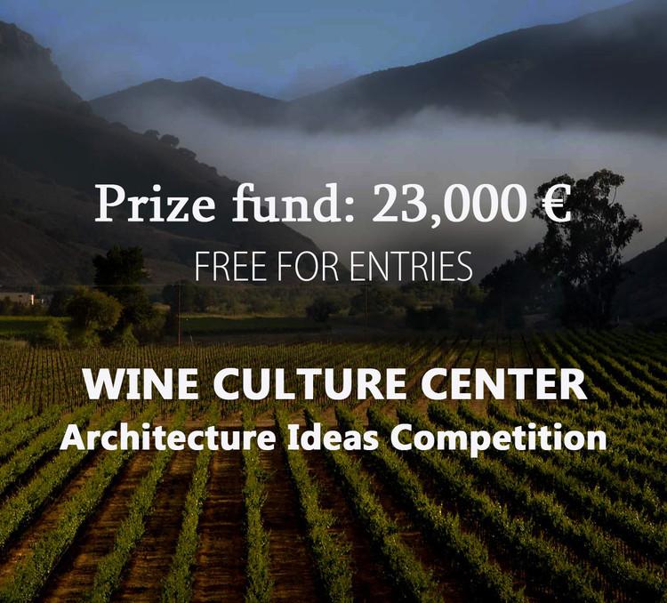 OPEN CALL : Wine Culture Center Architecture Ideas Competition, CREA TALENTS ARCHITECTURE IDEAS COMPETITION