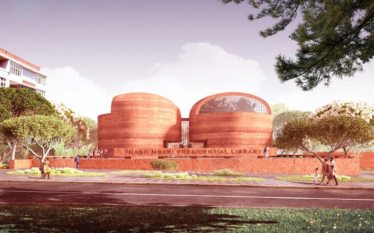 Adjaye Associates Designs the Thabo Mbeki Presidential Library in Johannesburg, South Africa, Courtesy of Adjaye Associates