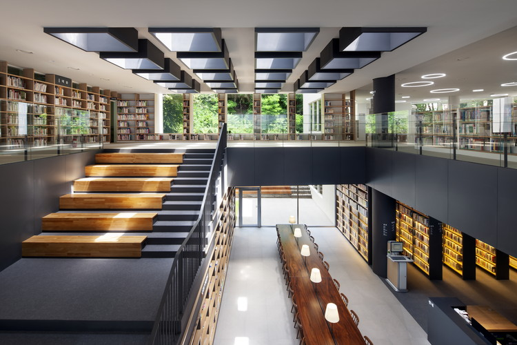 Doksan Library / D.LIM architects, © Youngchae Park