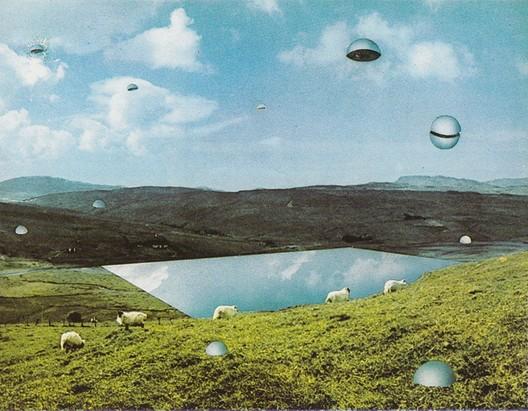 The Twelve Ideal Cities- 1971. Image via Fondazione MAXXI