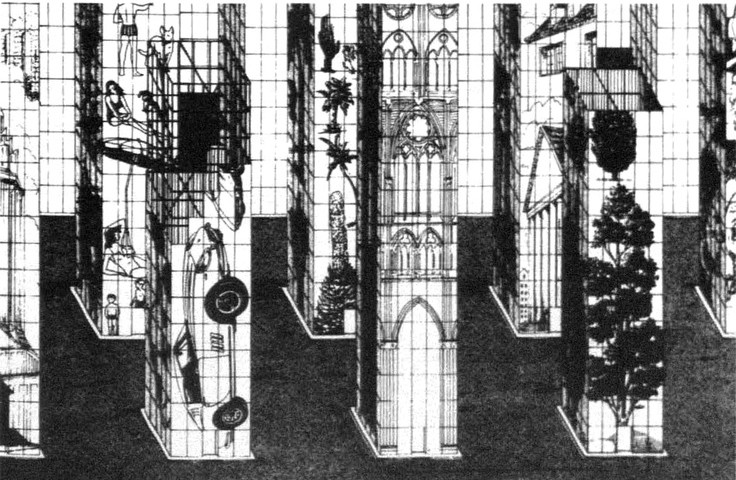 The Eleventh City Splendid Houses- 1971. Image © Superstudio