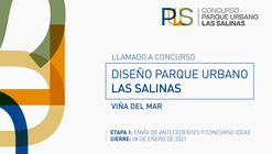 Concurso Internacional Parque Urbano Las Salinas