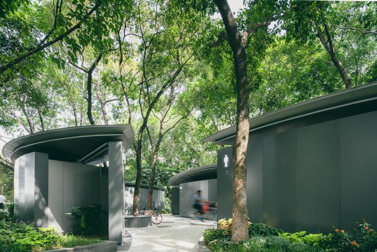 Cómo los baños públicos configuran lugares en China, Baño público de Nantou / Estudio Edge. Imagen © Zhuoheng Fu