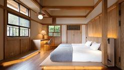 Transformação de Casa no Estilo Pradaria de Frank Lloyd Wright em um Hotel / Kamiya Architects