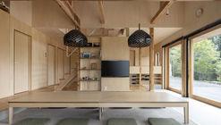 Hostal Sen Retreat en Takahara / KURU + Coil Kazuteru Matumura Architects