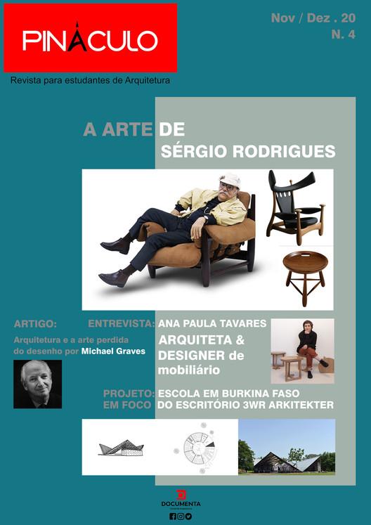 Revista Pináculo: publicação dedicada exclusivamente a estudantes de arquitetura, REVISTA PINÁCULO