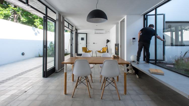Casa Patio / Ezequiel Spinelli + Facundo S. López, © Luis Barandiarán
