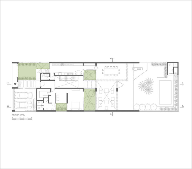 Casa M+L / Domenack Arquitectos. Image