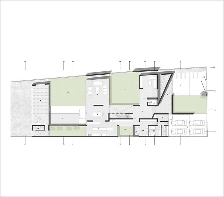 Casa Patios / Riofrio+Rodrigo Arquitectos. Image