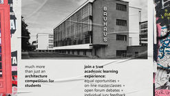 Bauhaus Campus 2021. Architecture Competition for Students