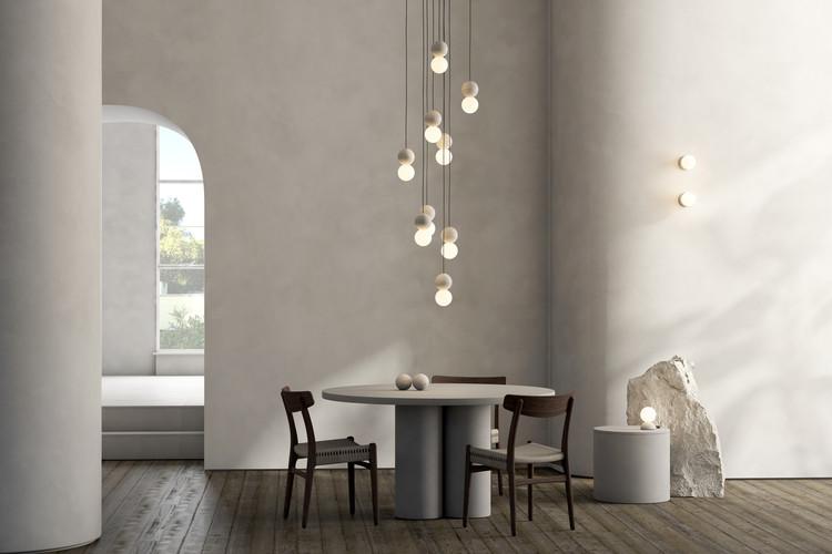 David Pompa Studio presenta colección de luminarias a base de piedra florito, Cortesía de David Pompa Studio
