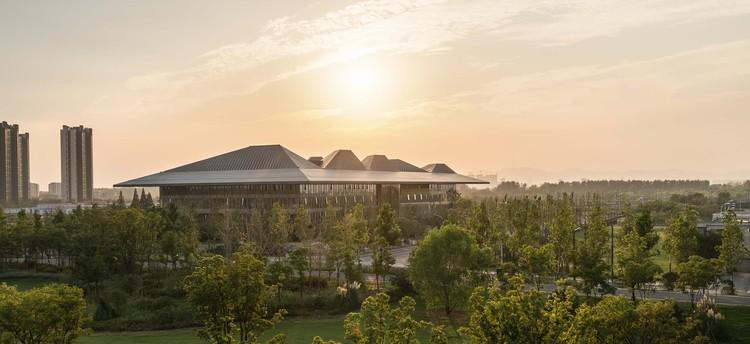 Nanjing Eco Hi-Tech Island: Xin Wei Yi Technology Park / NBBJ, © Terrence Zhang