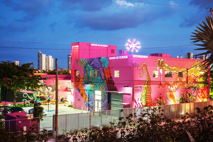 Balancing Preservation and Resiliency in Miami Beach, The Miami Ad School in Wynwood. Image © Robin Hill
