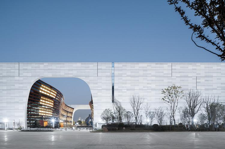 Jiashan Museum & Library / UAD, © Qiang Zhao