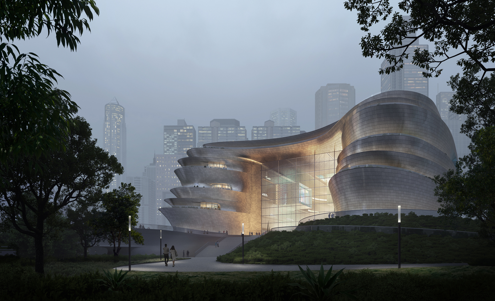 Zaha Hadid Architects Unveils New Shenzhen Science & Technology Museum