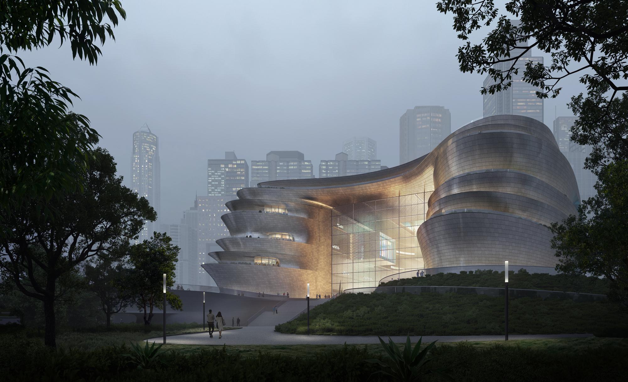 Zaha Hadid Architects Unveils New Shenzhen Science & Technology Museum