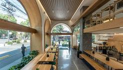 Restaurante Green Grass Condesa / Taller David Dana