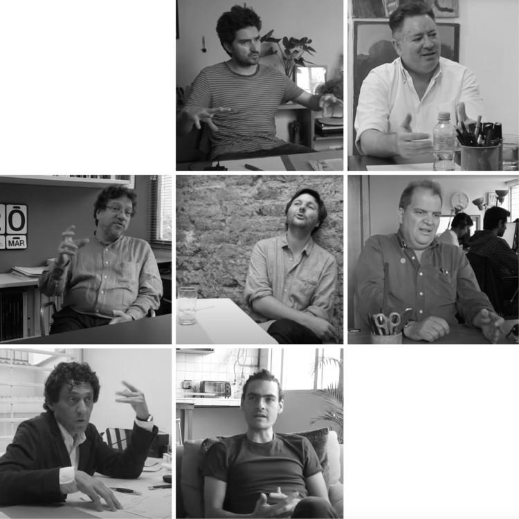 Siete Imaginarios, Siete Arquitectos: Entrevistas con la escena arquitectónica de Colombia
