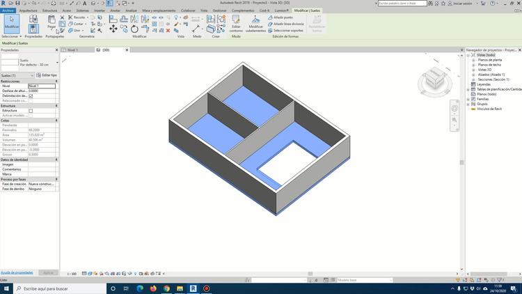 ¿Cómo modelar suelos, techos y plafones en BIM utilizando Revit?, Cortesía de GoPillar Academy