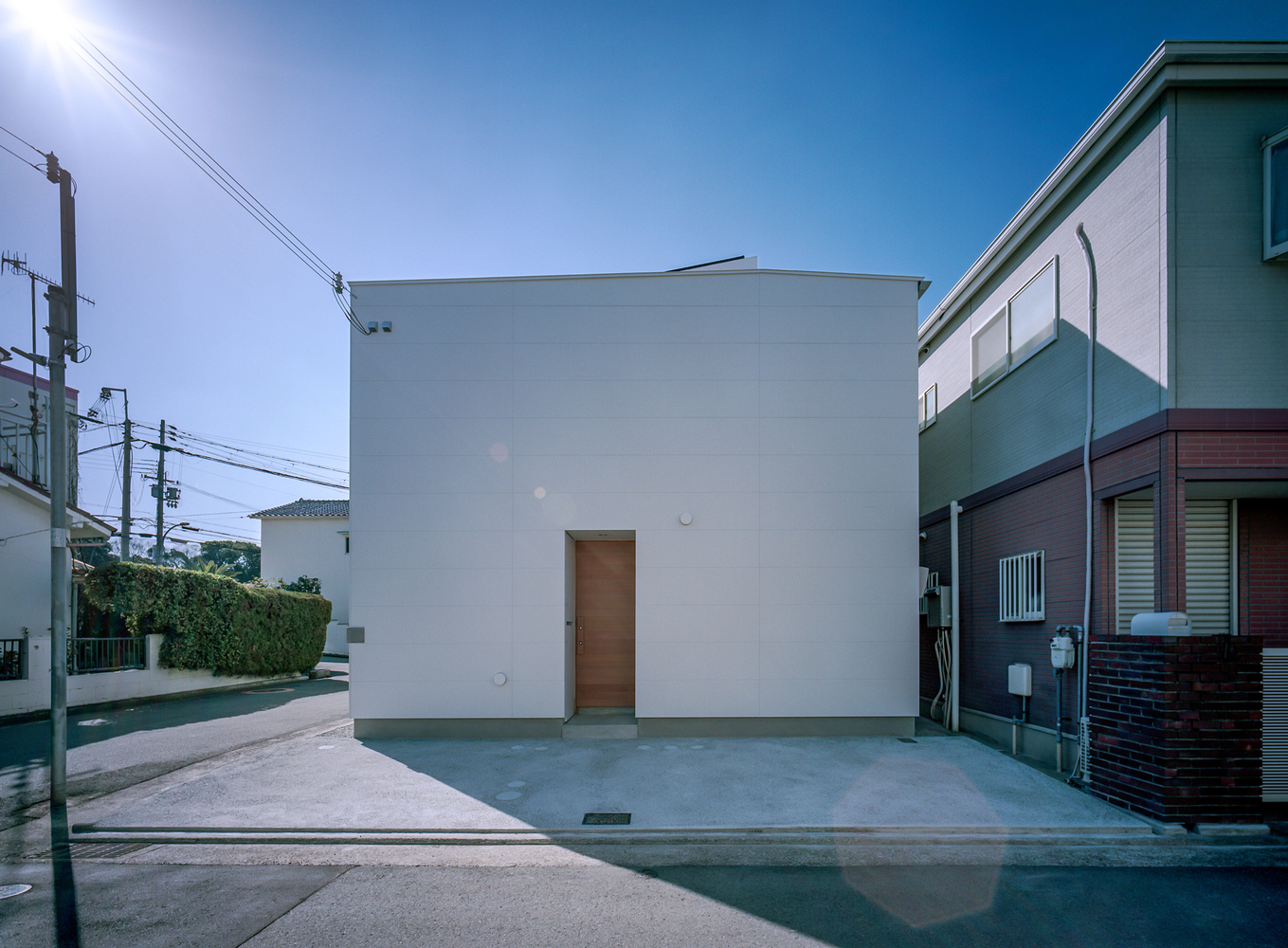 House with Light Void / FujiwaraMuro Architects