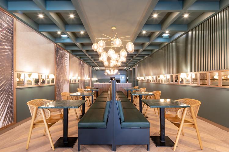 Restaurante The Green Affair Saldanha / Contacto Atlântico, © Gonçalo Henriques