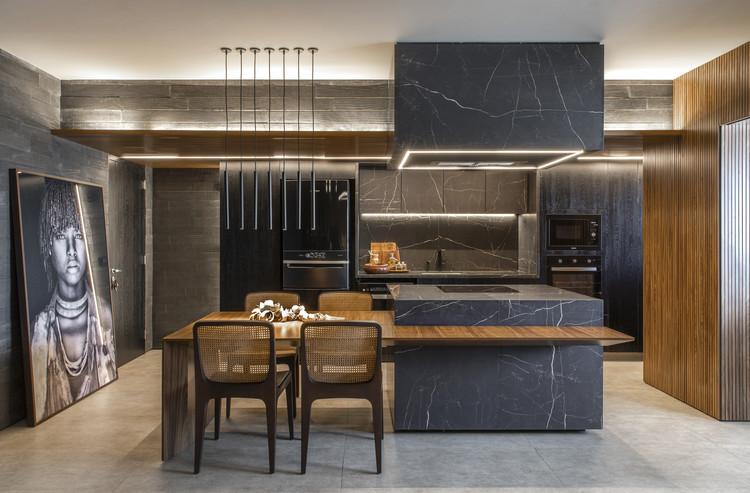 Apartamento JN / mf+arquitetos, © Felipe Araujo