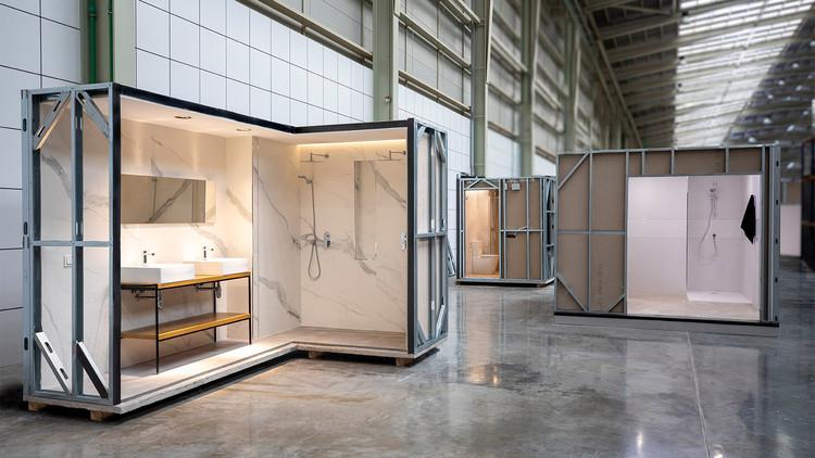 Baños modulares: ¿Cómo adaptar espacios prefabricados a un proyecto de arquitectura?, Monobath: baños industrializados. Image Cortesía de Porcelanosa