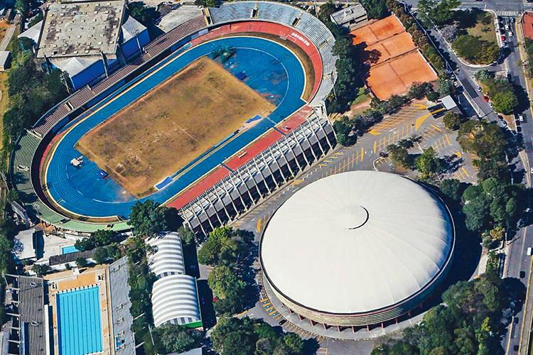 Ícaro de Castro Mello's Ibirapuera Sporting Arena Could Be Converted Into a Shopping Center, Constâncio Vaz Guimarães Sporting Complex. Promotional Image