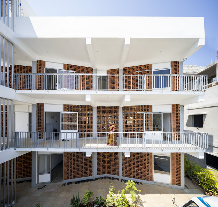 Creche Sharana / Anupama Kundoo Architects, © Javier Callejas
