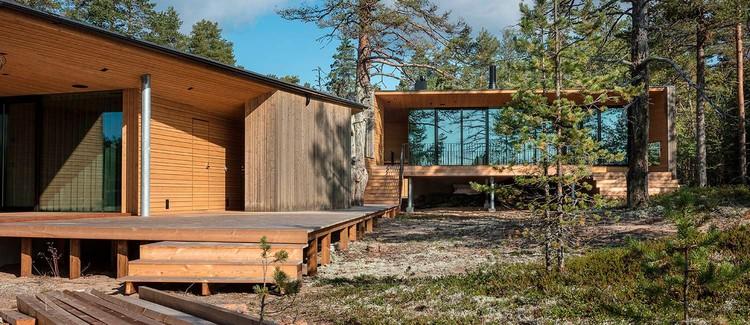 Villa Ryysyranta II / PAVE Architects, © Arno de la Chapelle