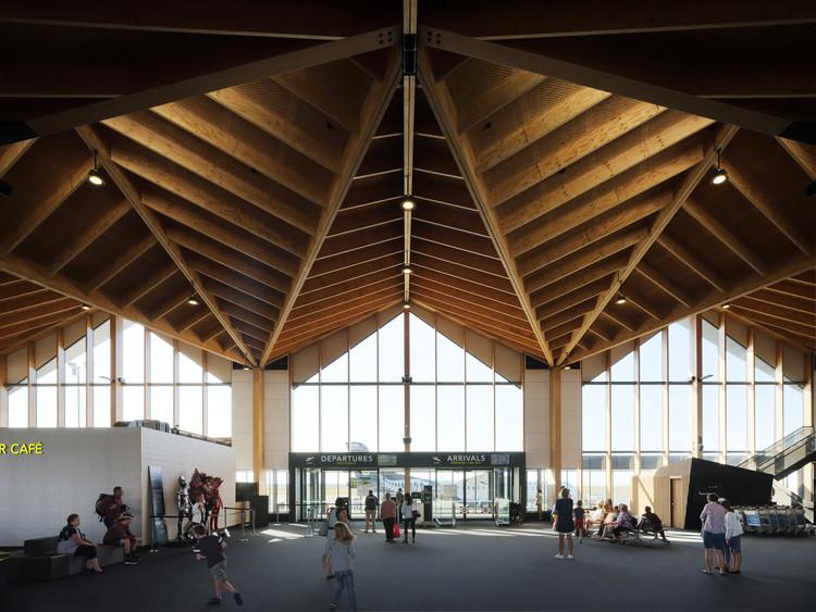 Terminal del aeropuerto de Nelson / Studio Pacific Architecture, © Jason Mann Photography