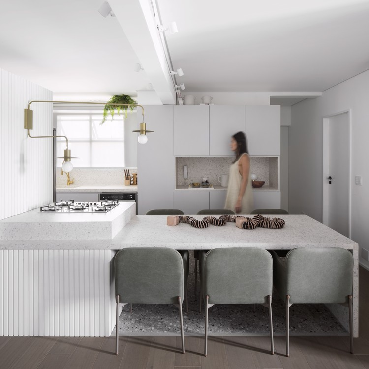 Apartamento CVU / flipê arquitetura, © Carolina Lacaz