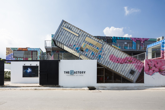 The Factory Contemporary Arts Center / HTAP Architects