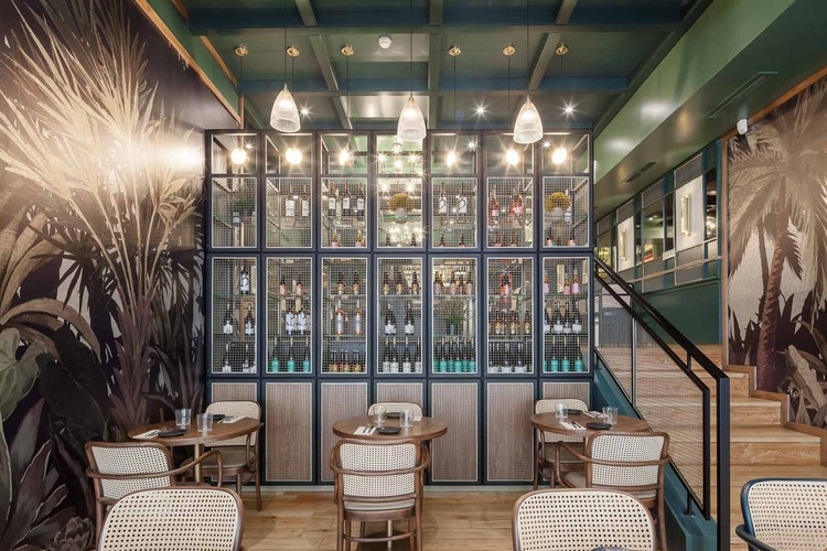 Green Affair Chiado Restaurant / Contacto Atlântico, © Gonçalo Henriques