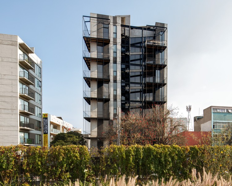 Edificio Yuno / ARQMOV Workshop, © Rafael Gamo